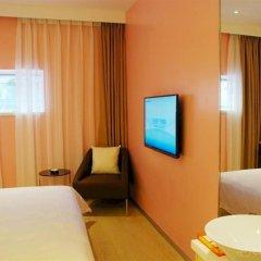 Отель Colour Inn - She Kou Branch Китай, Шэньчжэнь - отзывы, цены и фото номеров - забронировать отель Colour Inn - She Kou Branch онлайн комната для гостей