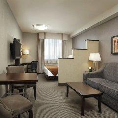 Отель Acclaim Hotel Calgary Airport Канада, Калгари - отзывы, цены и фото номеров - забронировать отель Acclaim Hotel Calgary Airport онлайн комната для гостей фото 3
