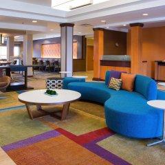 Отель Fairfield Inn & Suites by Marriott Columbus OSU США, Колумбус - отзывы, цены и фото номеров - забронировать отель Fairfield Inn & Suites by Marriott Columbus OSU онлайн интерьер отеля