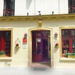 Отель MALAR Париж вид на фасад