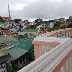 Hoang Trieu Da Lat Hotel Далат балкон