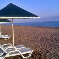 Отель Nostalgia World Pension пляж