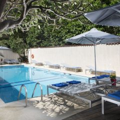 Отель Aquamare Hotel Греция, Родос - отзывы, цены и фото номеров - забронировать отель Aquamare Hotel онлайн бассейн фото 3