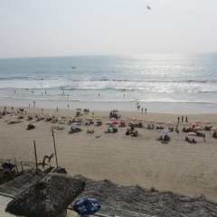 Отель Dharma Beach пляж фото 2