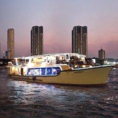 Отель Shangri-la Бангкок приотельная территория фото 2