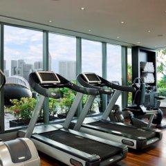 The Fullerton Bay Hotel Singapore фитнесс-зал фото 2