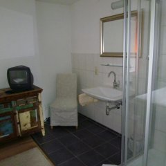 Отель Gasthof Fürstenbrunn Грёдиг ванная