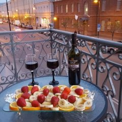 Отель English Home Tbilisi балкон