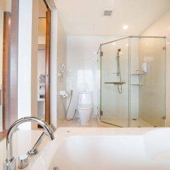 Отель Amanta Hotel & Residence Ratchada Таиланд, Бангкок - отзывы, цены и фото номеров - забронировать отель Amanta Hotel & Residence Ratchada онлайн ванная