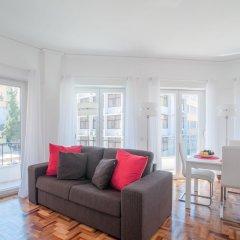 Апартаменты City Center Stylish Apartment Лиссабон комната для гостей