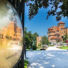 Отель Schloss Monchstein Зальцбург парковка