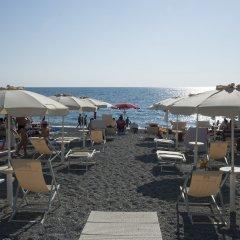 San Domenico Family Hotel Скалея пляж