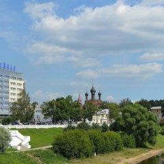 Отель Юбилейная Ярославль приотельная территория фото 2