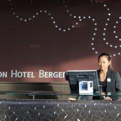 Отель Clarion Bergen Airport Берген парковка