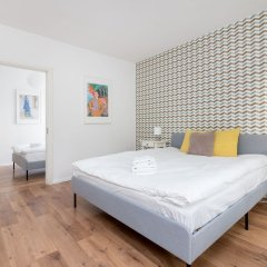 Апартаменты Metro Wilanowska 3-Bedroom Apartment Варшава комната для гостей фото 2