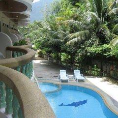 Отель Rattana Hill Патонг балкон