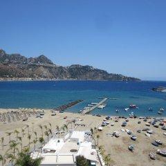 Отель Panoramic Италия, Джардини Наксос - отзывы, цены и фото номеров - забронировать отель Panoramic онлайн пляж фото 2