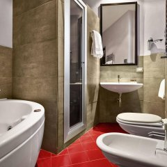 Hotel Leonardo Da Vinci Флоренция ванная фото 2