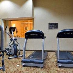 Отель Sleep Inn & Suites And Conference Center фитнесс-зал фото 3