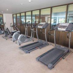 Отель R-Con Wong Amat Suite фитнесс-зал фото 2