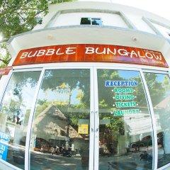 Отель Bubble Bungalow городской автобус