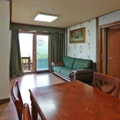 Отель Chalet Resort Южная Корея, Пхёнчан - отзывы, цены и фото номеров - забронировать отель Chalet Resort онлайн комната для гостей фото 2