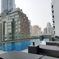 Апартаменты GM Serviced Apartment Бангкок бассейн фото 2