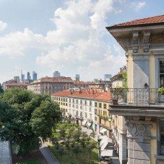 Отель Sheraton Diana Majestic, Milan балкон