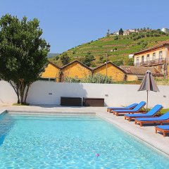 Отель Casa do Salgueiral Douro бассейн