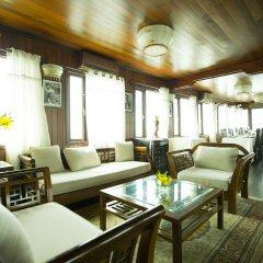 Отель Garden Bay Legend Cruise Вьетнам, Халонг - отзывы, цены и фото номеров - забронировать отель Garden Bay Legend Cruise онлайн интерьер отеля