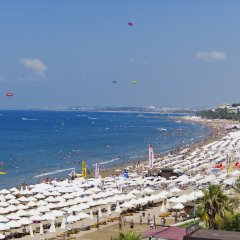 Отель Trendy Side Beach - All Inclusive - Adults Only пляж