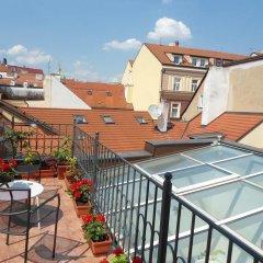 Отель Spa Carolline Прага балкон