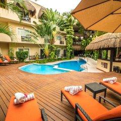 Отель Riviera Del Sol Плая-дель-Кармен бассейн фото 3