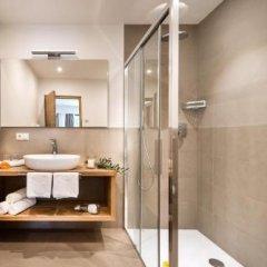 Отель Appartements Ferienidylle Gstrein Парчинес ванная