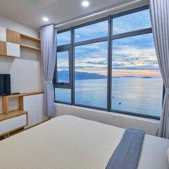 Апартаменты Sunrise Hon Chong Ocean View Apartment Нячанг комната для гостей фото 2