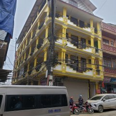 Отель OYO 836 Mangcay House Шапа вид на фасад