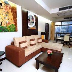 Отель Pinnacle Lumpinee Park Бангкок комната для гостей фото 4