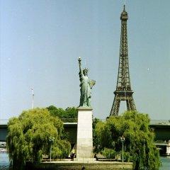 Отель Hôtel Gustave Париж приотельная территория фото 2