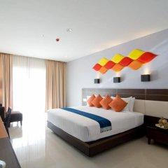 Отель Welcome World Beach Resort & Spa Таиланд, Паттайя - отзывы, цены и фото номеров - забронировать отель Welcome World Beach Resort & Spa онлайн комната для гостей фото 5