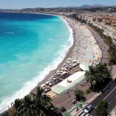 Hotel Nice Excelsior пляж фото 2
