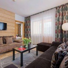 Отель Aparthotel Delta Garden Польша, Закопане - отзывы, цены и фото номеров - забронировать отель Aparthotel Delta Garden онлайн комната для гостей фото 4
