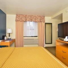 Отель Midtown Convention Center Hotel США, Нью-Йорк - отзывы, цены и фото номеров - забронировать отель Midtown Convention Center Hotel онлайн комната для гостей фото 3