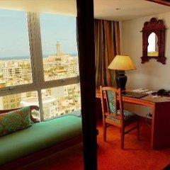 Отель Idou Anfa Hotel Марокко, Касабланка - отзывы, цены и фото номеров - забронировать отель Idou Anfa Hotel онлайн балкон