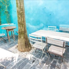 Отель Tres Sants Испания, Сьюдадела - отзывы, цены и фото номеров - забронировать отель Tres Sants онлайн приотельная территория
