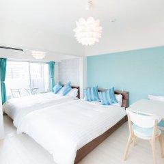 Отель Residence Tenjinn Minami Япония, Фукуока - отзывы, цены и фото номеров - забронировать отель Residence Tenjinn Minami онлайн комната для гостей фото 2
