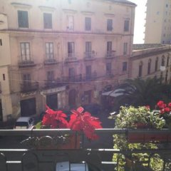 Отель B&B Palazzo del Teatro Агридженто балкон