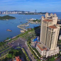 Отель Wyndham Grand Xiamen Haicang Китай, Сямынь - отзывы, цены и фото номеров - забронировать отель Wyndham Grand Xiamen Haicang онлайн пляж фото 2
