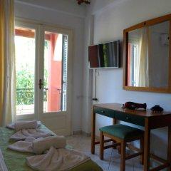 Отель Logas Beach Studios Греция, Корфу - отзывы, цены и фото номеров - забронировать отель Logas Beach Studios онлайн комната для гостей