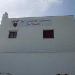 Отель Apartamentos Turísticos San Vicente Испания, Кониль-де-ла-Фронтера - отзывы, цены и фото номеров - забронировать отель Apartamentos Turísticos San Vicente онлайн вид на фасад