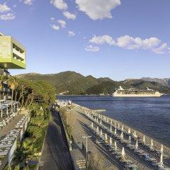 Отель Park Черногория, Каменари - отзывы, цены и фото номеров - забронировать отель Park онлайн приотельная территория фото 2